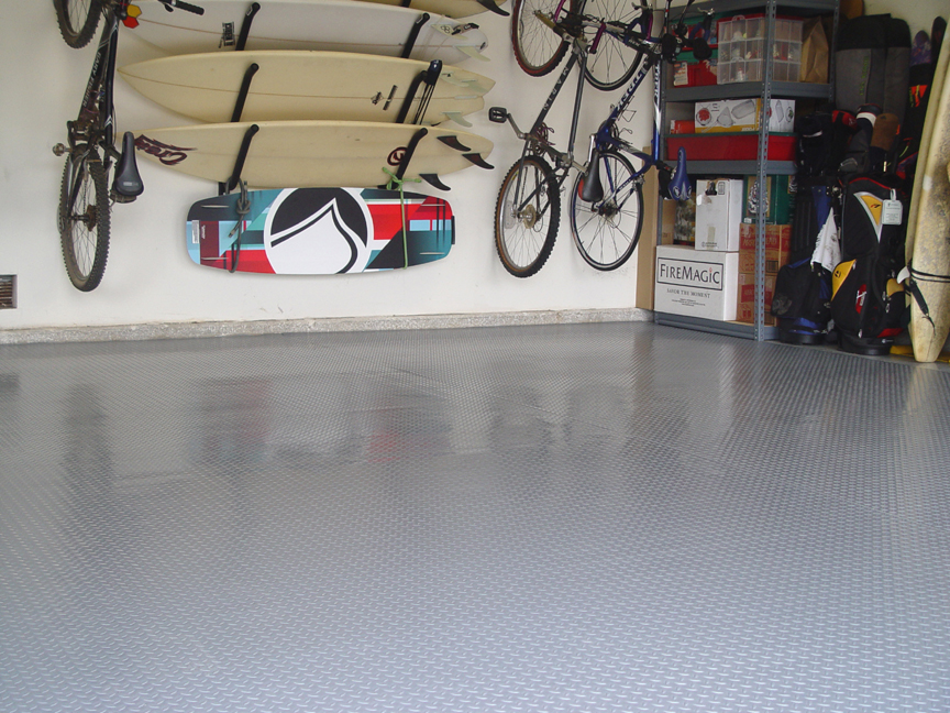 Cover The Entire Garage Floor Or Use As A Parking Pad
