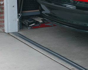 Under garage door seal
